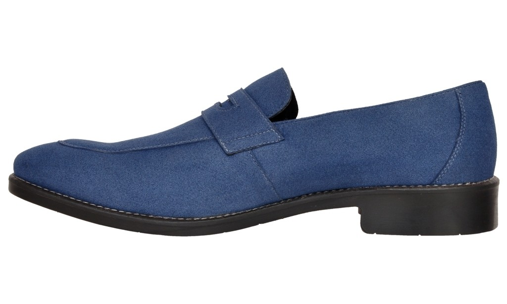 American Lifestyle Mallorca Blue Casual Penny Loafer by ...